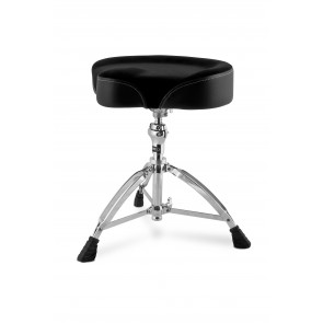 Mapex Cloth Saddle Top Drum Throne Double Braced
