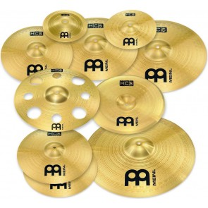 "Meinl HCS Ultimate Cymbal Set Pack Free 16"" Trash Crash (HCS-SCS1)"