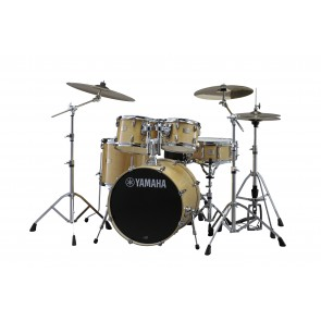 Yamaha SBP0F56W 5-Piece Stage Custom Birch Drum Set with Hardware