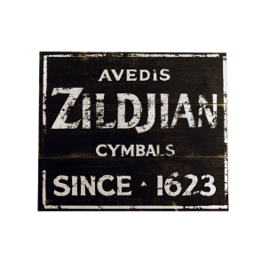 Zildjian Vintage Factory Sign 15X12.5