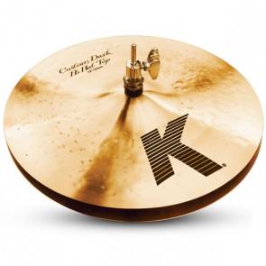 "Zildjian 13"" K Custom Dark HiHats"