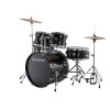 Ludwig Accent Fuse Drum Kit with Hardware, Cymbals and Throne