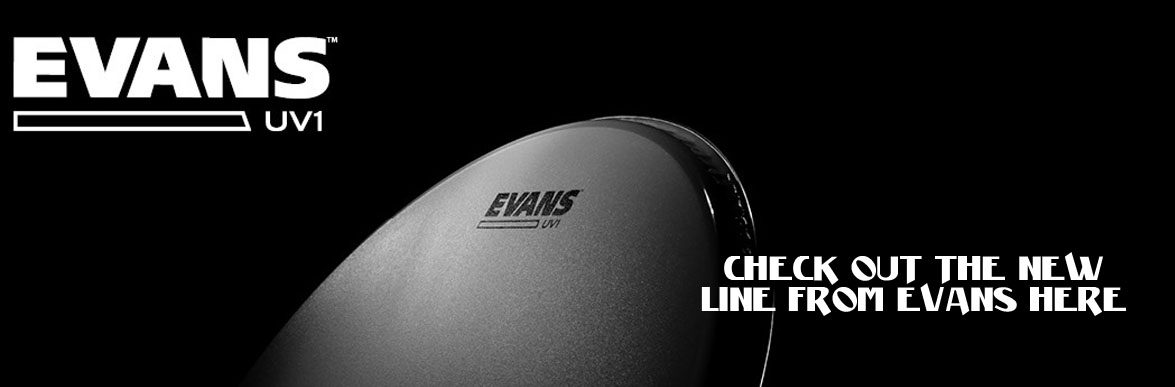 Evans drumheads UV1 Columbus Percussion
