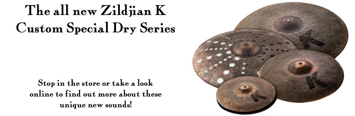 Zildjian K Custom Special Dry Collection Cymbals