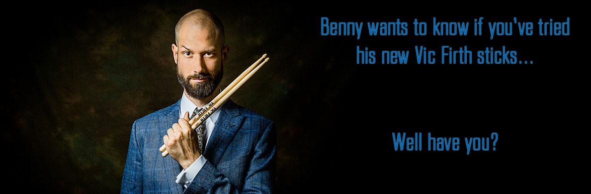 Benny Greb Vic Firth drumsticks Columbus Percussion
