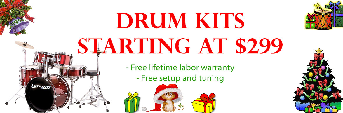Drum Kits Starting at $299