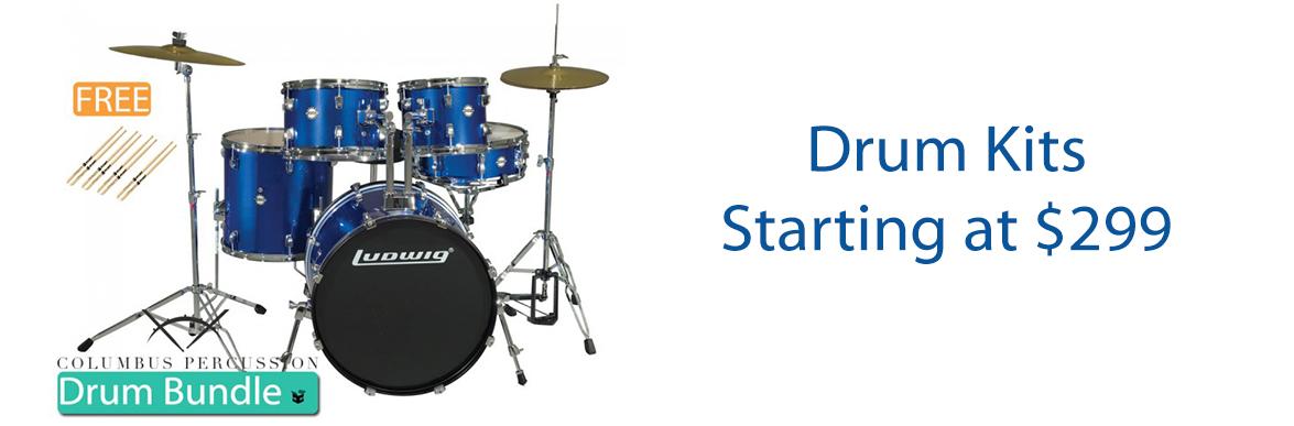 Starter Drum Sets