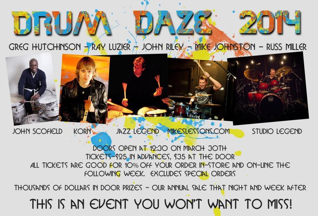 Drum Daze 2014