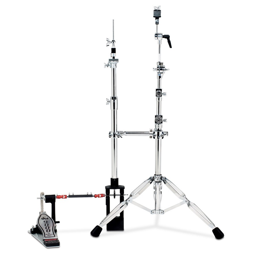dw drums 9000 series remote universal hihat stand dwcp9550. Black Bedroom Furniture Sets. Home Design Ideas