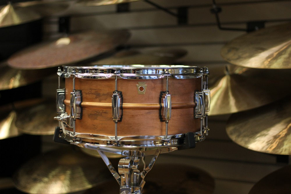 Copper Yamaha Snare Drum