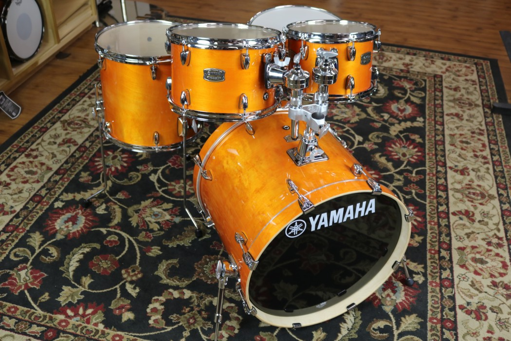 Yamaha sbp0f50 5 piece stage custom birch drum set for Yamaha stage custom steel snare drum 14x6 5