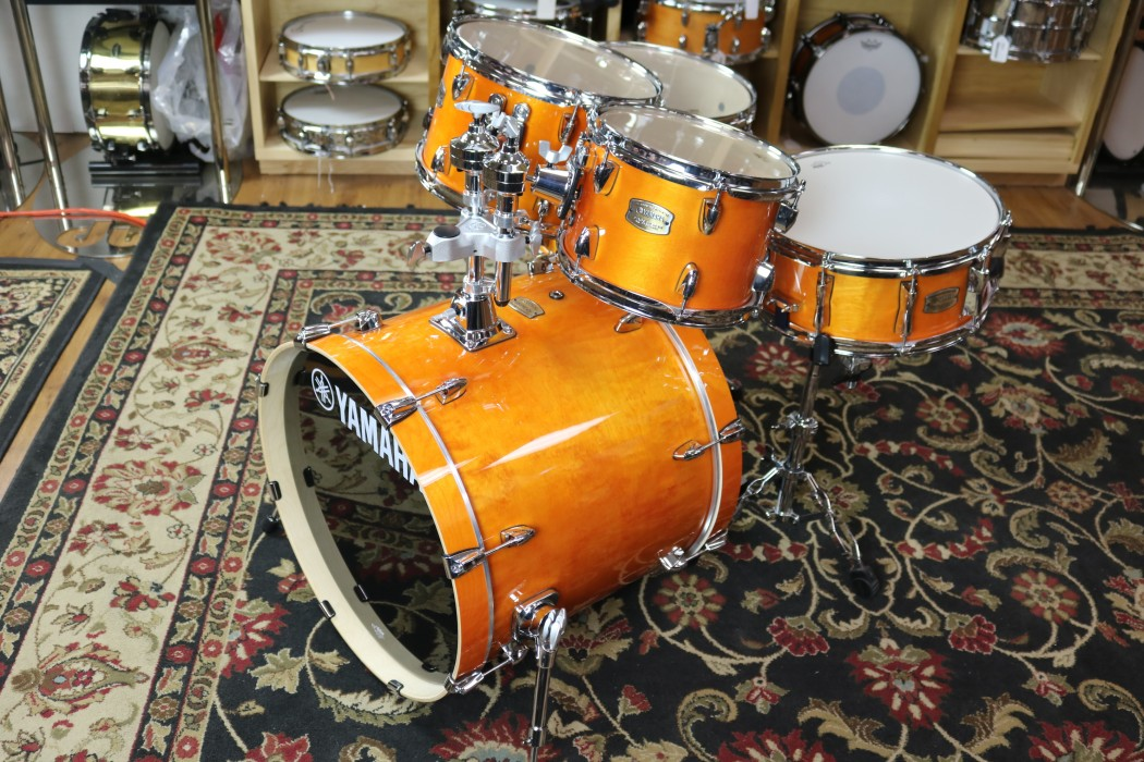 Yamaha Sbp0f57 5 Piece Stage Custom Birch Drum Set