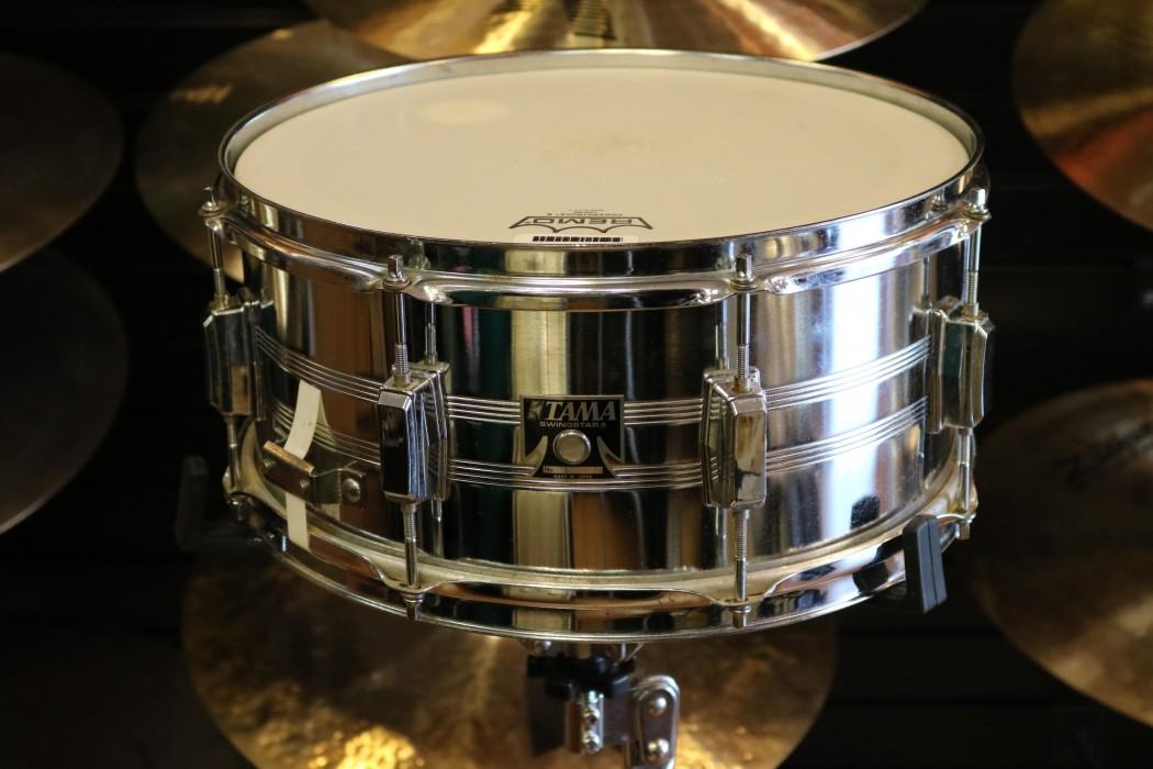 used tama 6 5 x 14 swingstar snare drum. Black Bedroom Furniture Sets. Home Design Ideas