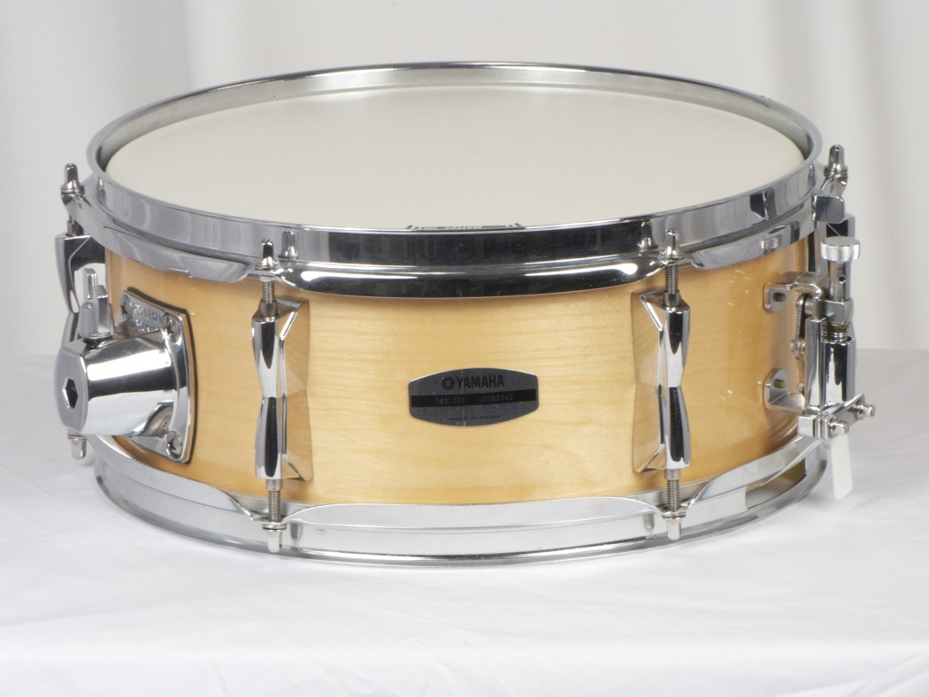 yamaha stage custom birch 12x5 snare drum in natural wood. Black Bedroom Furniture Sets. Home Design Ideas