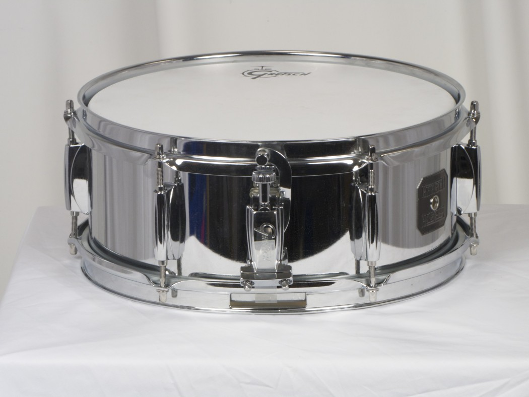 gretsch 5x12 chrome snare drum. Black Bedroom Furniture Sets. Home Design Ideas