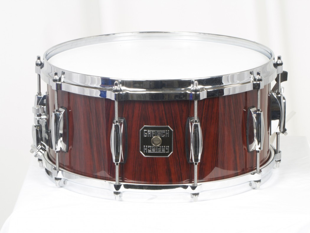 gretsch 6 5x14 rosewood snare drum. Black Bedroom Furniture Sets. Home Design Ideas