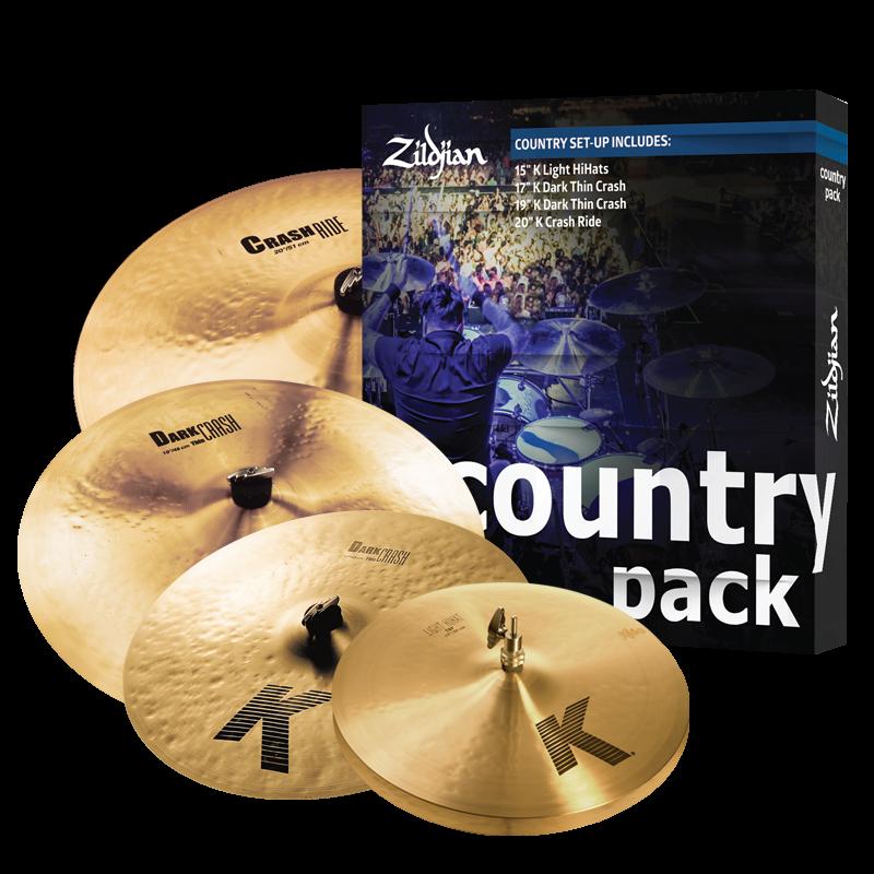 zildjian country k pack cymbal. Black Bedroom Furniture Sets. Home Design Ideas