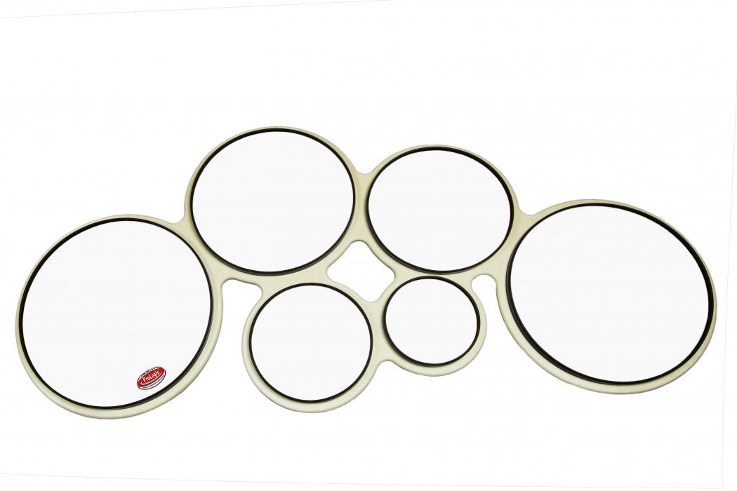 ProLogix 6 8 Pro Tenor Full Drum Practice Pad