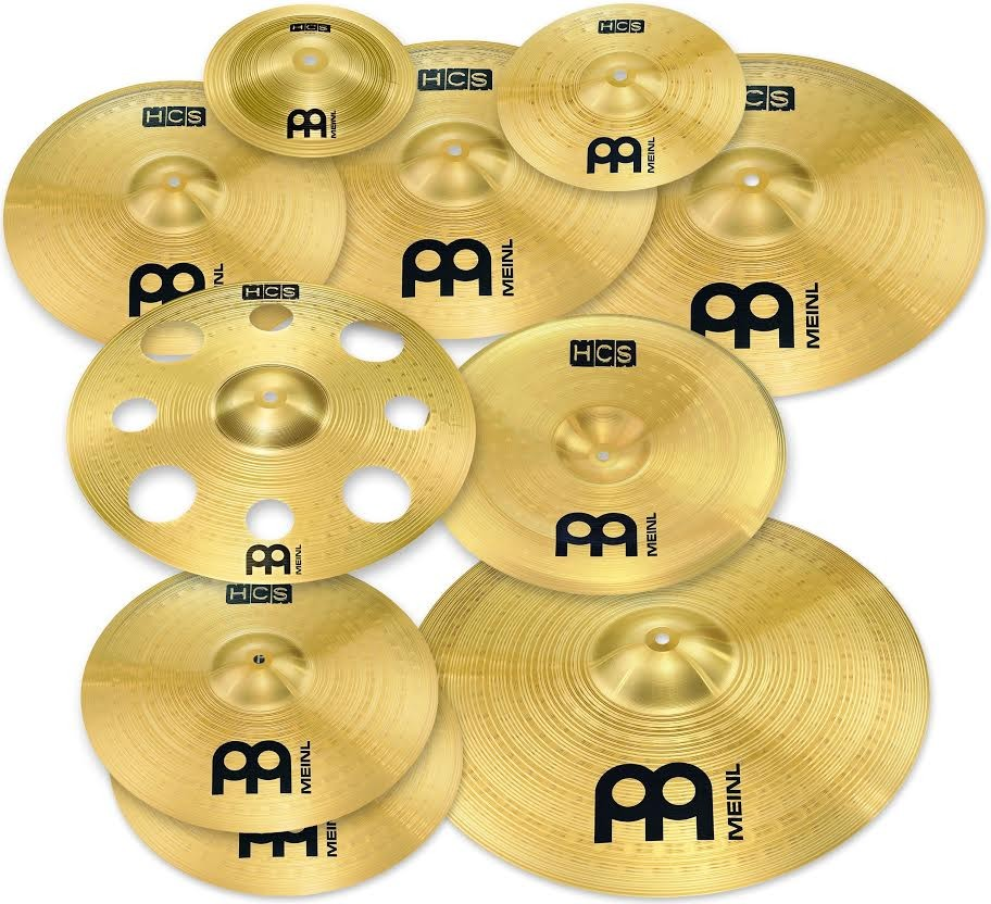 Meinl Hcs Ultimate Cymbal Set Pack Hcs Scs1
