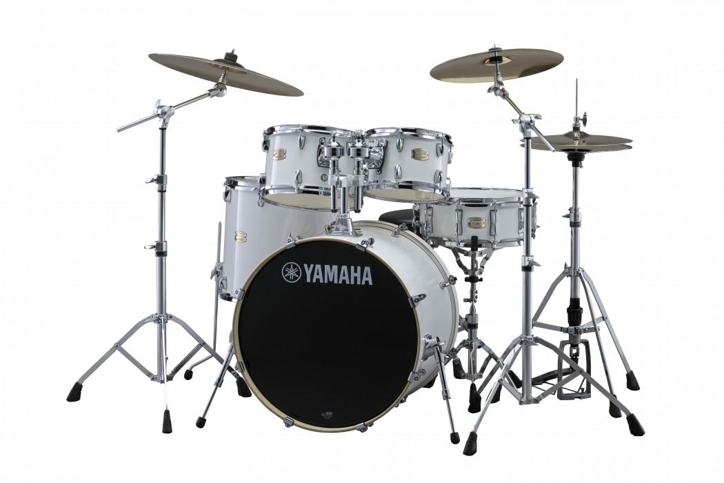 Yamaha Stage Custom Birch Rock Drum Set
