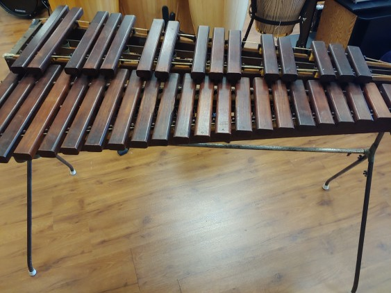 """Used - Deagan PIT XYLOPHONE 3 Octave """"Drummer's Special""""  """"NAGAED"""" Rosewood"""