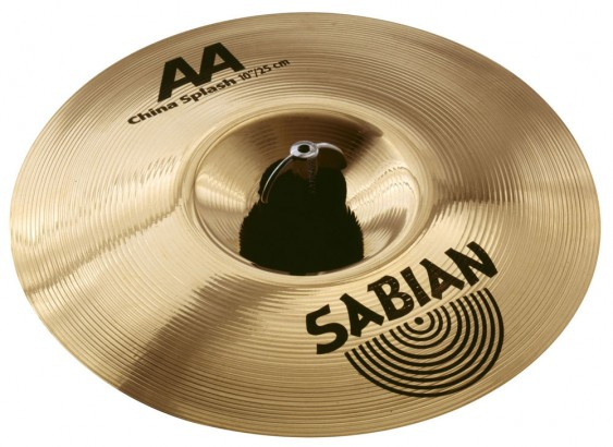 "SABIAN 10"" AA China Splash Brilliant Cymbal"