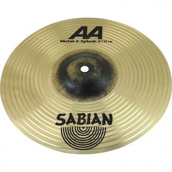 "SABIAN 10"" AA Metal-X Splash Brilliant Cymbal"