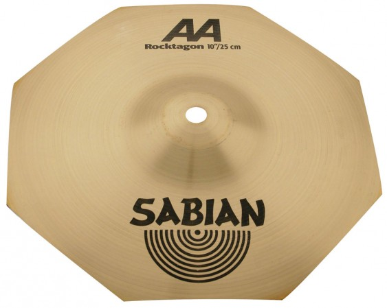 "SABIAN 10"" AA Rocktagon Splash Brilliant Cymbal"