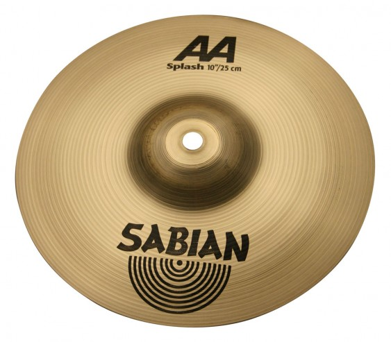 "Sabian 10"" AA Splash Brilliant Finish"