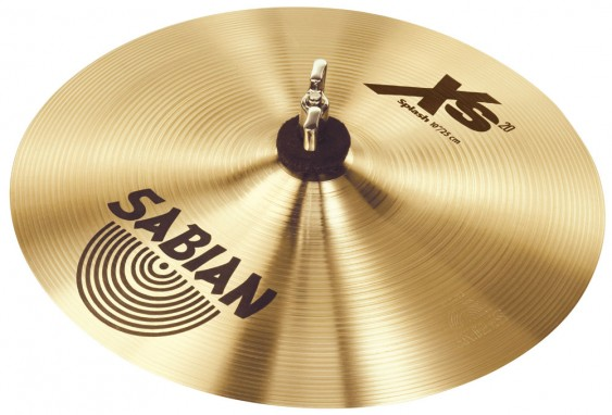 "SABIAN 10"" Xs20 Splash Brilliant Cymbal"