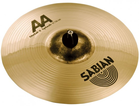 "SABIAN 12"" AA Metal-X Splash Brilliant Cymbal"