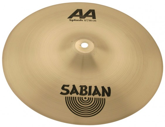 "SABIAN 12"" AA Splash Brilliant Cymbal"