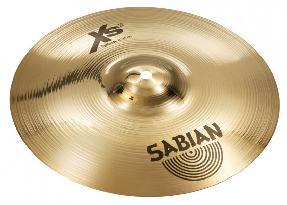 "SABIAN 12"" Xs20 Splash Brilliant Cymbal"