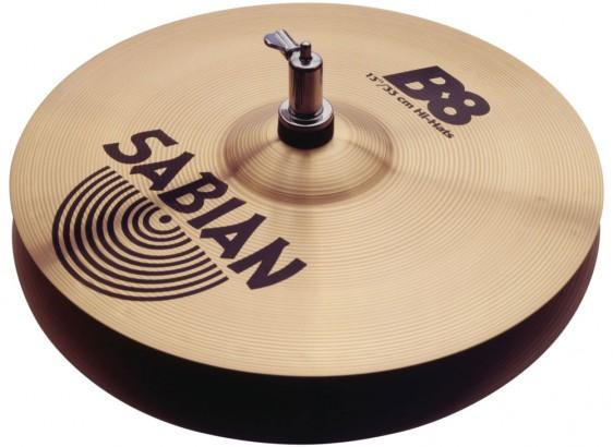 """SABIAN 13"""" B8 Cymbal Hats"""
