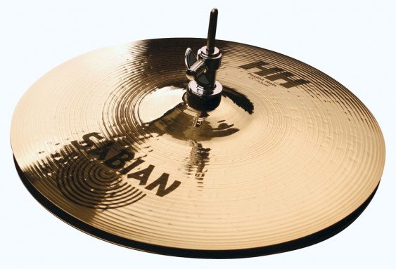 "Sabian 13"" HH Fusion Hi-Hats Brilliant Finish"