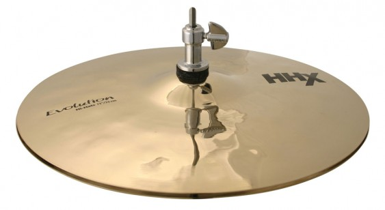 "Sabian 13"" HHX Evolution Hi-Hats Brilliant Finish"