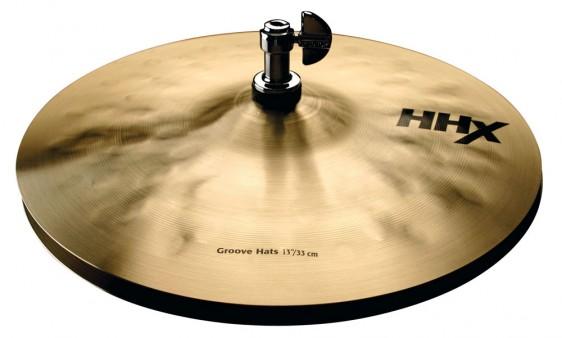 "SABIAN 13"" HHX Groove Cymbal Hats"