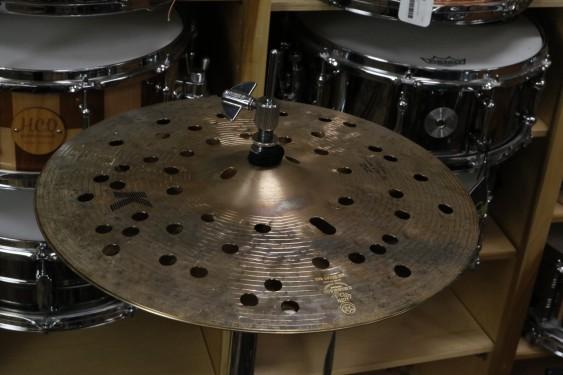 "Zildjian 14"" K Custom Special Dry Fx Top Hi Hat Cymbal-Demo of Exact Cymbal"