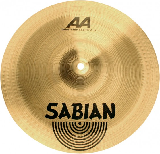 "Sabian 14"" AA Mini Chinese Brilliant Finish"