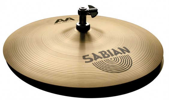 "Sabian 14"" AA Rock Hats Brilliant Finish"