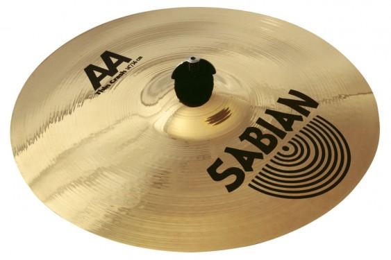 "SABIAN 15"" AA Thin Crash Brilliant Cymbal"