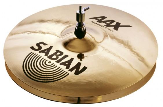 """SABIAN 14"""" AAX Fast Cymbal Hats Brilliant"""