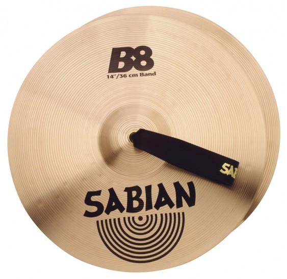 """SABIAN 14"""" B8 Band Pair Cymbal"""