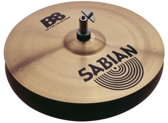 """SABIAN 14"""" B8 Cymbal Hats"""