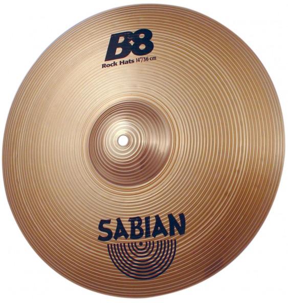 "SABIAN 14"" B8 Rock Cymbal Hats"