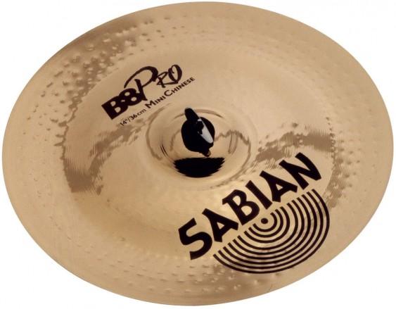 """SABIAN 14"""" B8 Pro Mini Chinese Cymbal"""