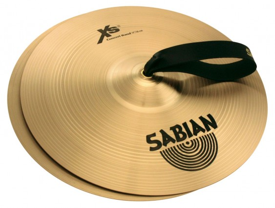 "SABIAN 14"" Xs20 Concert Band Pair Cymbal"