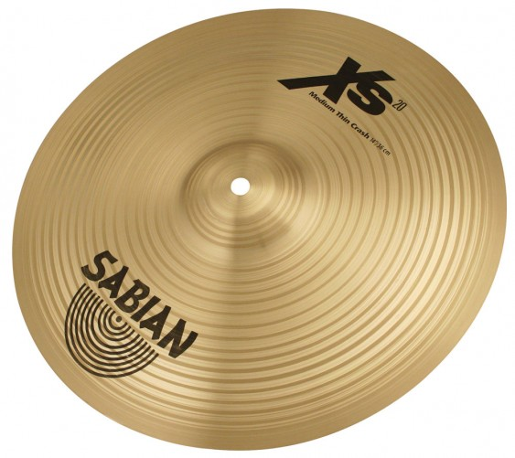 "SABIAN 14"" Xs20 Medium Thin Crash Brilliant Cymbal"