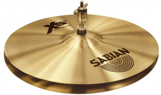 "SABIAN 14"" Xs20 Rock Cymbal Hats"