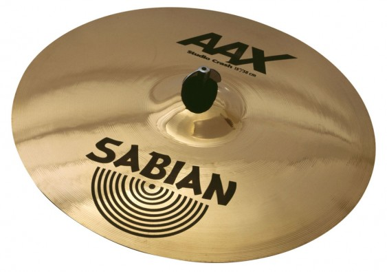 "Sabian 15"" AAX Studio Crash Brilliant Finish"